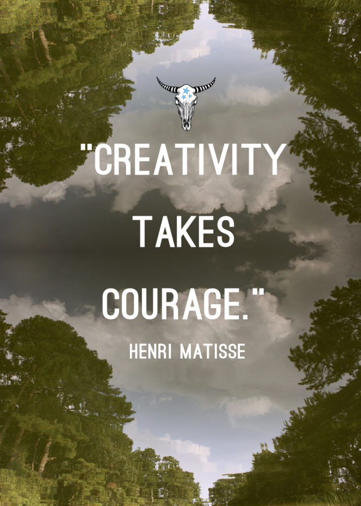 6-30 Creativity Takes Courage